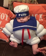 Stay Puff Homemade Costume