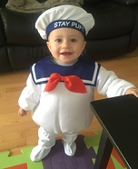 Stay Puft Baby Homemade Costume
