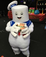 Stay Puft Marshmallow Man Homemade Costume