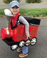 Steam Train Liam Homemade Costume