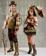 Steampunk Couple Costume