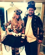 Steampunk Couple Homemade Costume