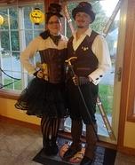 Steampunk Couple Homemade Costume