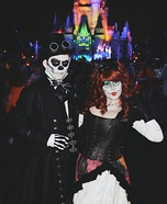 Steampunk Jack and Sally Homemade Costume