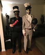 Steampunk Spy Vs. Spy Homemade Costume