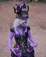Steampunk Ursula Homemade Costume