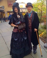 Steampunk Victorians Homemade Costume