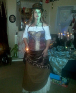 Steampunk Zombie Woman Costume