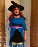 Stella Bubble Witch Homemade Costume