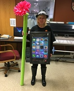 Stem Cell with built in Butt Dialing Homemade Costume