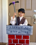 Step in Time Chimney Sweep Homemade Costume