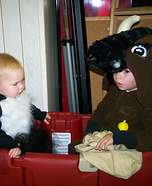 Stinker Belle and Bull Costumes