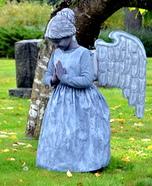 Stone Angel Statue Homemade Costume