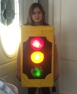 Stoplight Homemade Costume