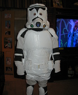 Homemade Storm Trooper costume
