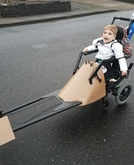 Stormtrooper with Speeder Homemade Costume
