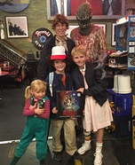 Stranger Things Family Homemade Costume