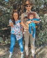 Stranger Things Family Edition Homemade Costume