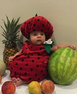 Strawberry Baby Costume