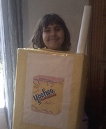 Strawberry Yoohoo Homemade Costume