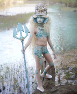 Stunning Siren Homemade Costume