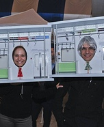 Subway People Homemade Costume