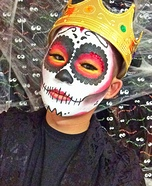 Sugar Skull Queen Homemade Costume