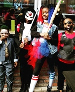 Suicide Squad Child's Group Costume