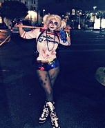 Suicide Squad Harley Quinn Homemade Costume