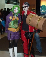 Suicide Squad Joker and Harley Quinn Homemade Costume