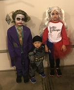 Suicide Squad Kids Homemade Costume