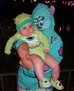 Sulley & Mike from Monsters Inc. Costume