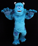 Sully from Monsters Inc Homemade Costume