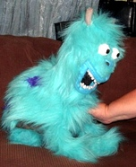 Sully from Monsters Inc Cat Homemade Costume