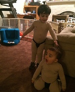 Sumo Brothers Homemade Costume