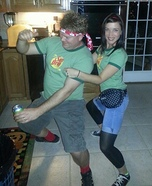 Sun Drop Couple Costume