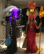 Sun Goddess and Storm Goddess Homemade Costume