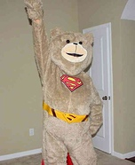 Super-Ted Homemade Costume