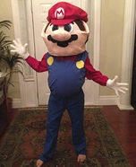 Super Big Super Mario Homemade Costume