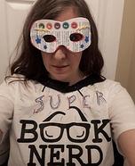 Super Book Nerd Homemade Costume