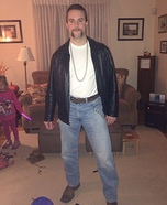 Super Creepy Rob Lowe Homemade Costume