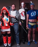 Group costume ideas - Super Engines