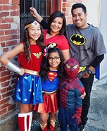 Super Family Costume