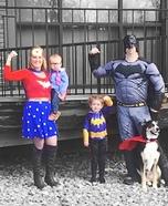 Super Family Homemade Costume