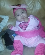Super Girl Baby Costume