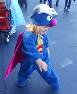 Super Grover Baby Costume
