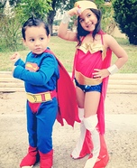 Super Heroes Halloween Costumes