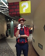 Super Mario Homemade Costume