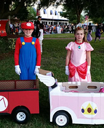 Super Mario Homemade Costume