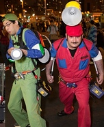 Super Mario Ghostbusters Homemade Costume